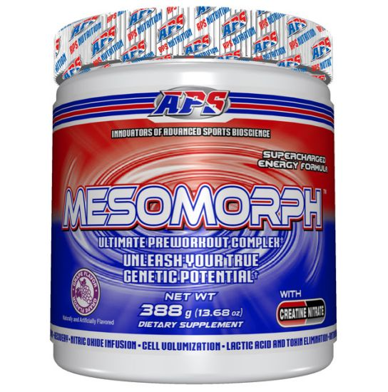 APS MESOMORPH V3 NON DMAA 388g GRAPE 25 SERVINGS | Monster Pump ...